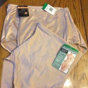 "NWT  3 Pair of "" tummy solution "" Panties  BALI"
